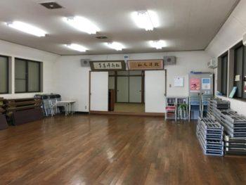 鈴鹿市 Y町公会堂 内外装改修工事